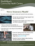 Stress Awareness Month!