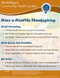 Have a Healthy Thanksgiving This Year
